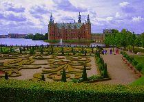 Замок Фредериксборг: Французский парк