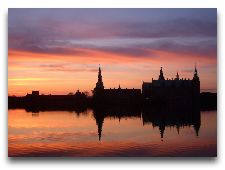 Замок Фредериксборг: На закате