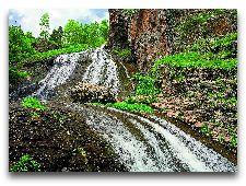 Джермук. Общая информация: Водопад Джермука