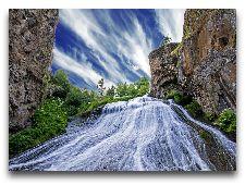 Джермук. Общая информация: Водопад