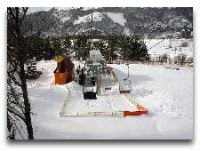 Джермук. Общая информация: Зима в Джермуке