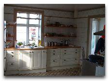 Рыбацкий коттедж в гавани: Рыбный коттедж кухня