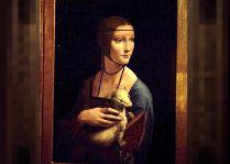 Музеи Кракова: Дама с горностаем