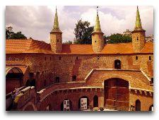 Достопримечательности Кракова: Башня Барбакан внутрення часть