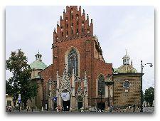 Достопримечательности Кракова: Доминиканский костел, или Базилика Святой Троицы.