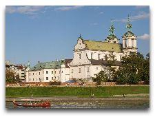 Достопримечательности Кракова: Паулинский костел на Скалке