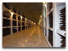 Криковские подвалы: Хранилище вина