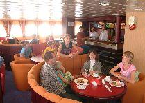 Круизы на остров Борнхольм (Дания): Бар на пароме