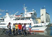 Круизы на остров Борнхольм (Дания): Велосипедисты