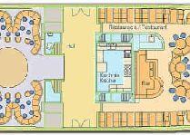 Круизы на остров Борнхольм (Дания): Корабль «Янтарь» план палубы