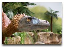 Круизы на остров Борнхольм (Дания): Динозавр - экспонат в местном музее