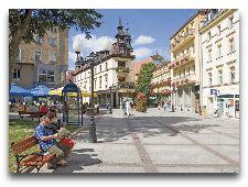 Курорт Цеплице-Слёнске-Здруй: Курорт летом