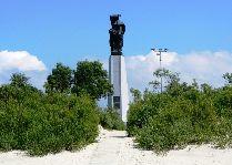 Достопримечательности Лиепая: Памятник погибшим в море