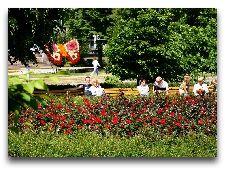 """Достопримечательности Лиепая: Площадь """"Rožu laukums"""""""