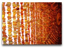 Достопримечательности Лиепая: Янтарные бусы