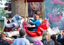 Парк развлечений Лисеберг: Летающие слоны