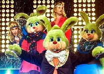 Парк развлечений Лисеберг: ПРедставление кроликов