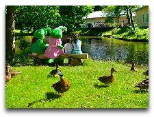 Парк развлечений Лисеберг: Небольшие домики