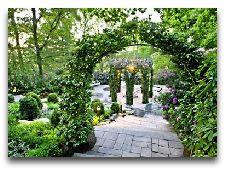 Парк развлечений Лисеберг: Сады