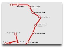 Карта Метро Еревана