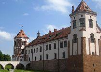 Мирский замок: Мост у замка