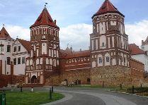 Мирский замок: Въездная башня