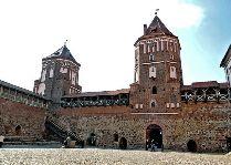 Мирский замок: Двор замка