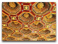 Мирский замок: Потолок в одном из залов