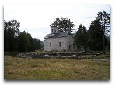 Экскурсии по Черногории: Церковь у Цетиньского монастыря