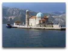 Экскурсии по Черногории: о. Госпа от Шкрпела в Боко-Которской бухте