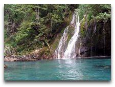 Экскурсии по Черногории: водопад на р. Тара