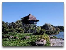 Парки Несвижа: Беседка в Японском саду