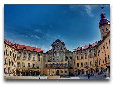 Несвижский замок: Внутренний двор