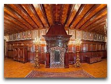 Несвижский замок: Интерьер замка