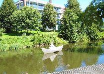 Город Оденсе: Бумажный кораблик