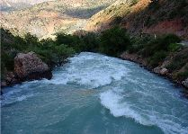 Окрестности Душанбе: Река Возроб