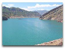 Окрестности Душанбе: Нурекское водохранилище