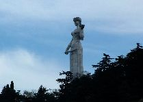Памятники Тбилиси: Мать Грузии