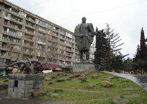 Памятники Тбилиси: Памятник Важа Пшавела