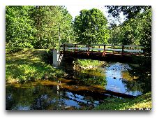 Парк Тойла-Ору: Мост через речку