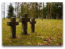Парк Тойла-Ору: Старинное кладбище на краю парка