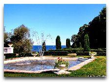 Парк Тойла-Ору: Фонтан в регулярном парке