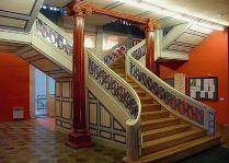 Музеи Пярну: Лестница в поместье Тыстамаа