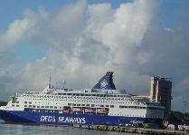 Паром Копенгаген - Осло: Плывем