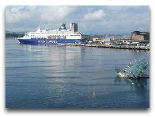 Паром Копенгаген - Осло: Вид на терминал ДФДС