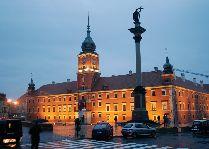 Варшава площадь перед замком