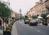 Варшава улица Новый Свят