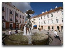Достопримечательности Тарту - Ратушная площадь и Ратуша