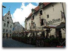 Ресторан Olde Hansa: Летняя терраса