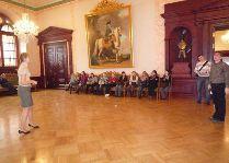 Достопримечательности Риги: Зал для торжественных приемов.